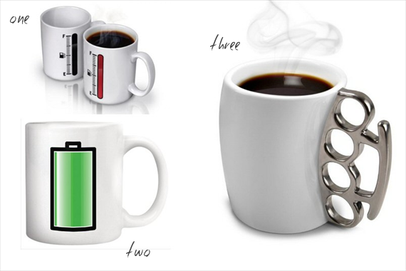 funny quirky coffee cups - Top Groomsmen Gift Ideas for 2014