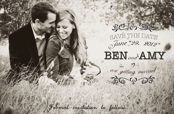 Here's What Happens When Your Groom is in Charge of Wedding Invitations