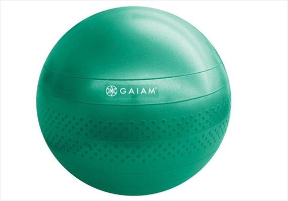 Top 20 Fitness Accessories (via EmmalineBride.com): #16 A Sturdy Balance Ball