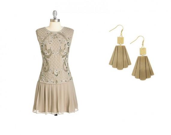 gatsby wedding bridesmaid dresses | via http://emmalinebride.com/vintage/gatsby-wedding-bridesmaids/