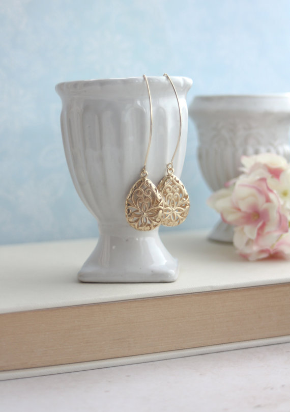 earrings - moroccan wedding jewelry