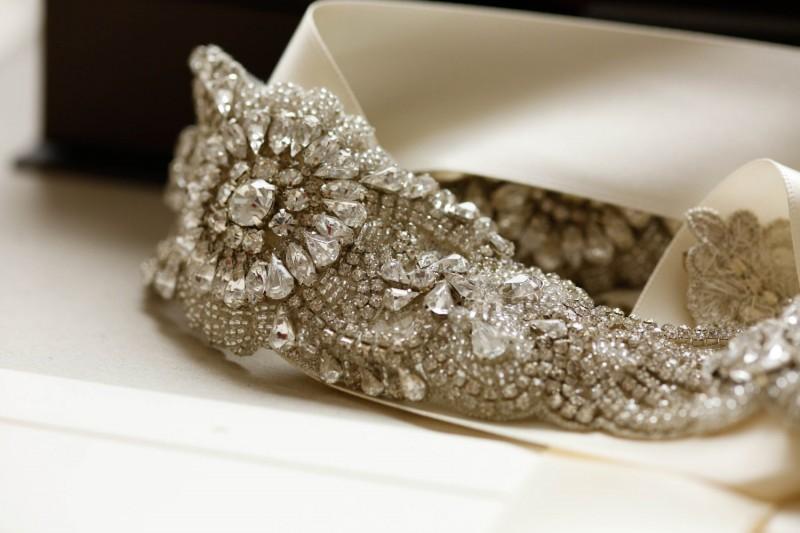 gorgeous sparkly sash