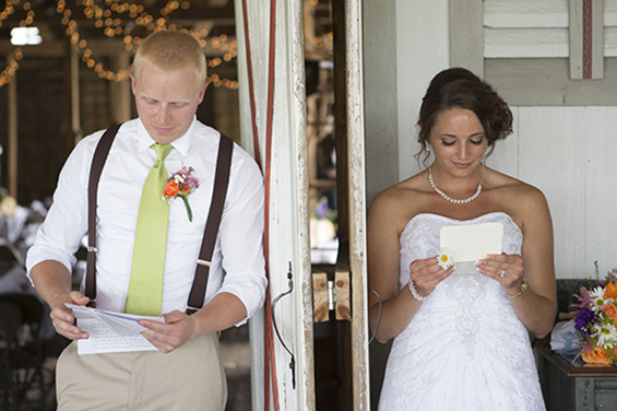 Write a Letter to the Groom (photo: third line studios)
