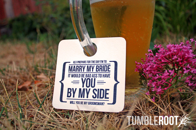 groomsman beer tag | Funny Groomsmen Cards He'll Actually Want to