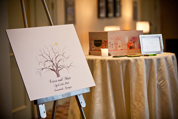 Guest Book Tree (by The Ink Lab)