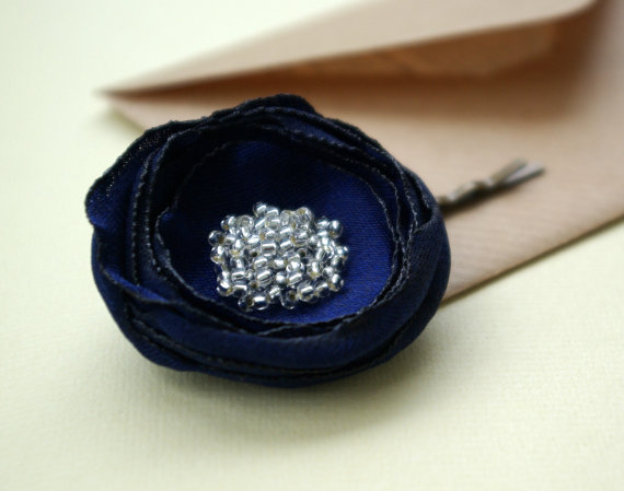hair flower pin 1