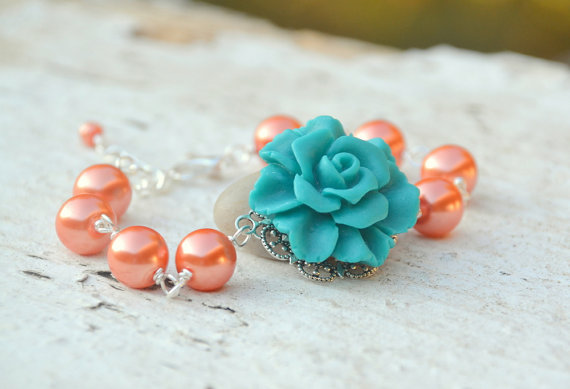 Handmade Jewelry (by Rustic Gem Jewelry via EmmalineBride.com) #handmade #wedding #jewelry