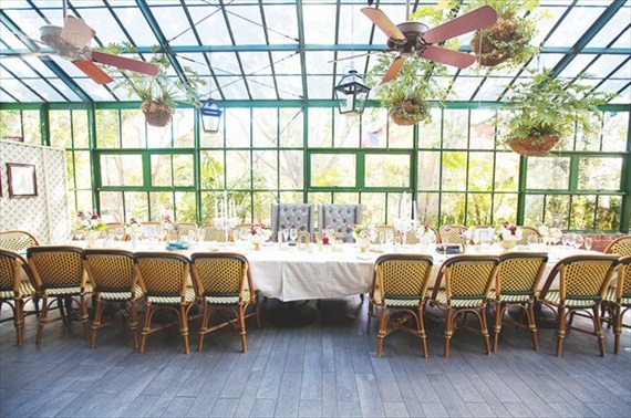 Head Table for Large Wedding Party