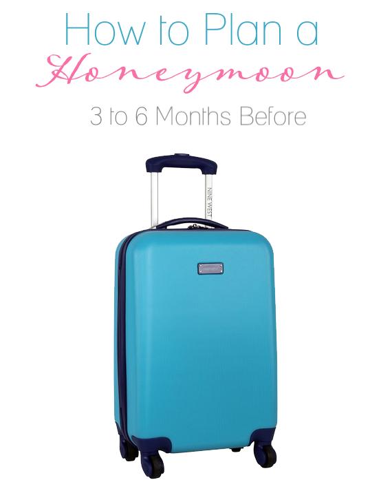 honeymoon planning tips