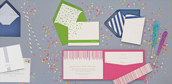 How to Coordinate Your Wedding in One Easy Step - via EmmalineBride.com (invites: dear lc)
