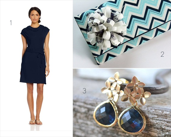 How to Style Bridesmaids in Blue (via EmmalineBride.com)