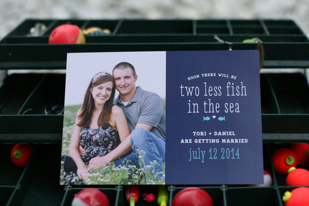 fishing themed wedding ideas