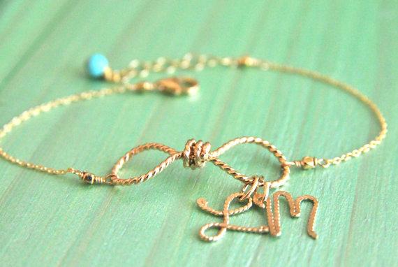 infinity charm bracelet via infinity gift ideas