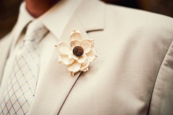 ivory-boutonniere-flower-groom-tuscaloosa-real-wedding