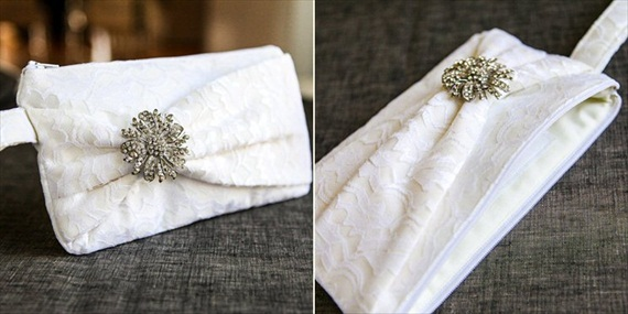 Gift for Bridesmaids - Bow Clutches by Brighter Day