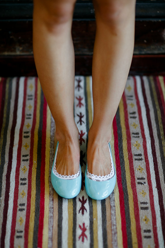 lace socks for flats by Three Bird Nest | via 5 Tips to Make Wedding Flats Absolutely Easy to Wear http://emmalinebride.com/bride/tips-flats-wedding/