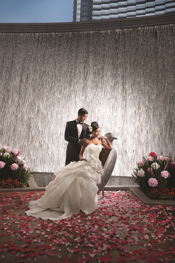 Plan a Las Vegas Wedding - Waterfall