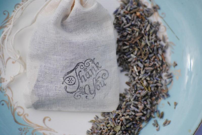 lavender wedding toss bags