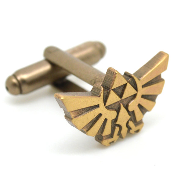 legend of zelda | Custom Cufflinks Groomsmen Gifts | via EmmalineBride.com