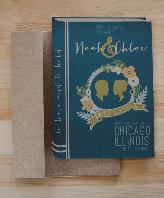 library book wedding invitation - 5 things to know about wedding invitations
