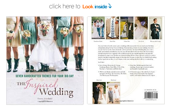 the inspired wedding planning book