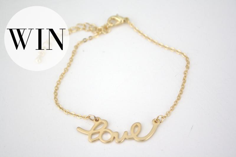 love bracelet WIN
