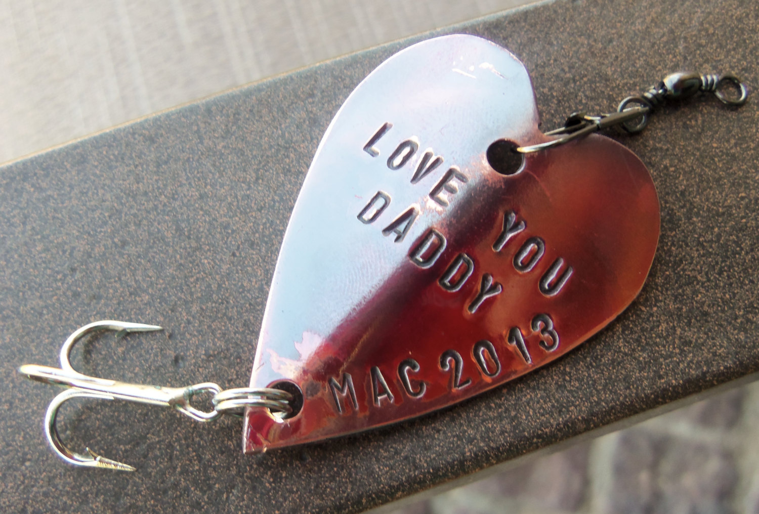 love you daddy fishing lure