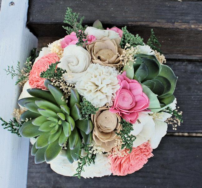 luxe succulent bouquet
