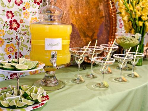 margarita bar for margarita bar wedding setup