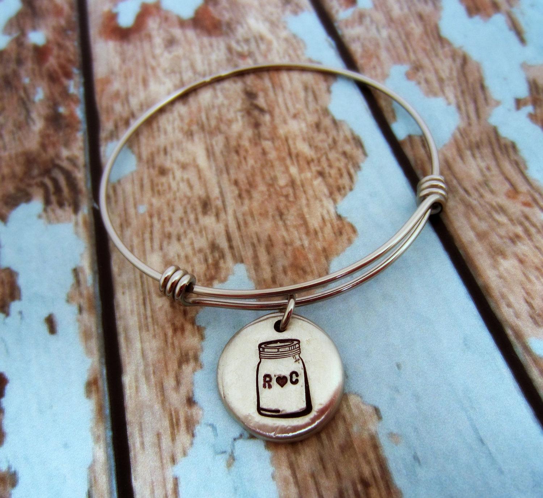 mason jar jewelry: bracelet