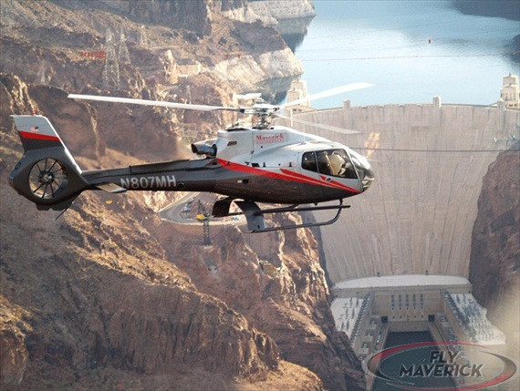 Maverick Helicopters - fly over the Hoover Dam!