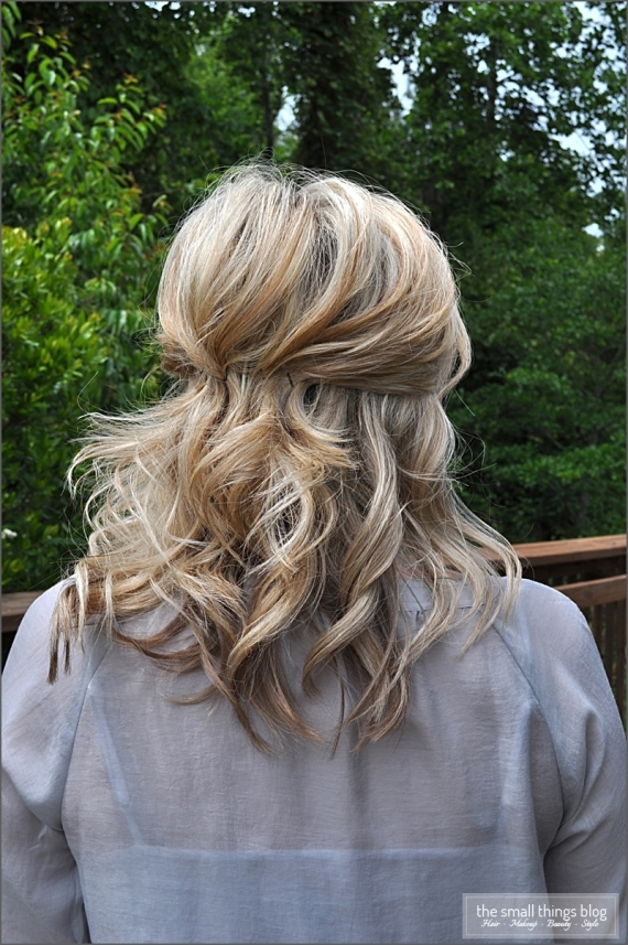 Half Up Hairstyle for Weddings