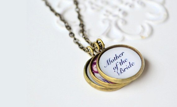 Wedding Jewelry for Mom - necklace (by white truffle studio)