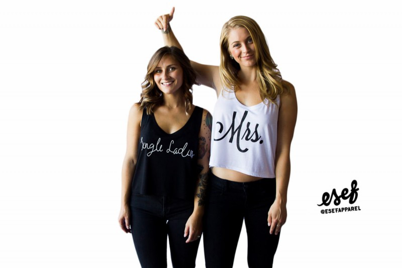 mrs and single ladies tank tops
