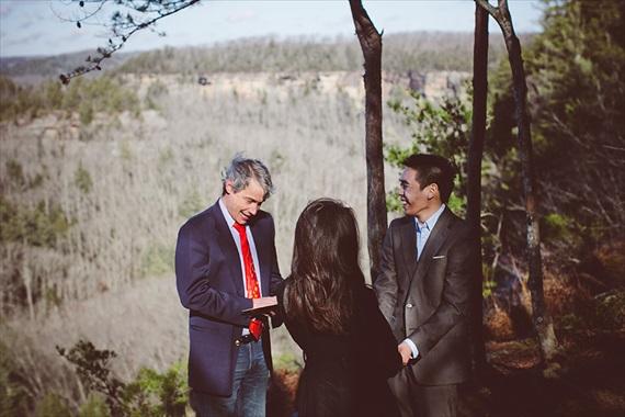 My Tiny Wedding - red river gorge wedding