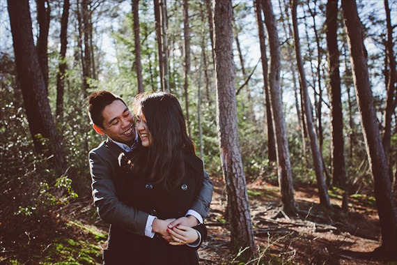 My Tiny Wedding - Daniel Boone National Forest wedding