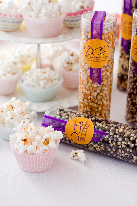 old fashioned popcorn favors by dell cove spices