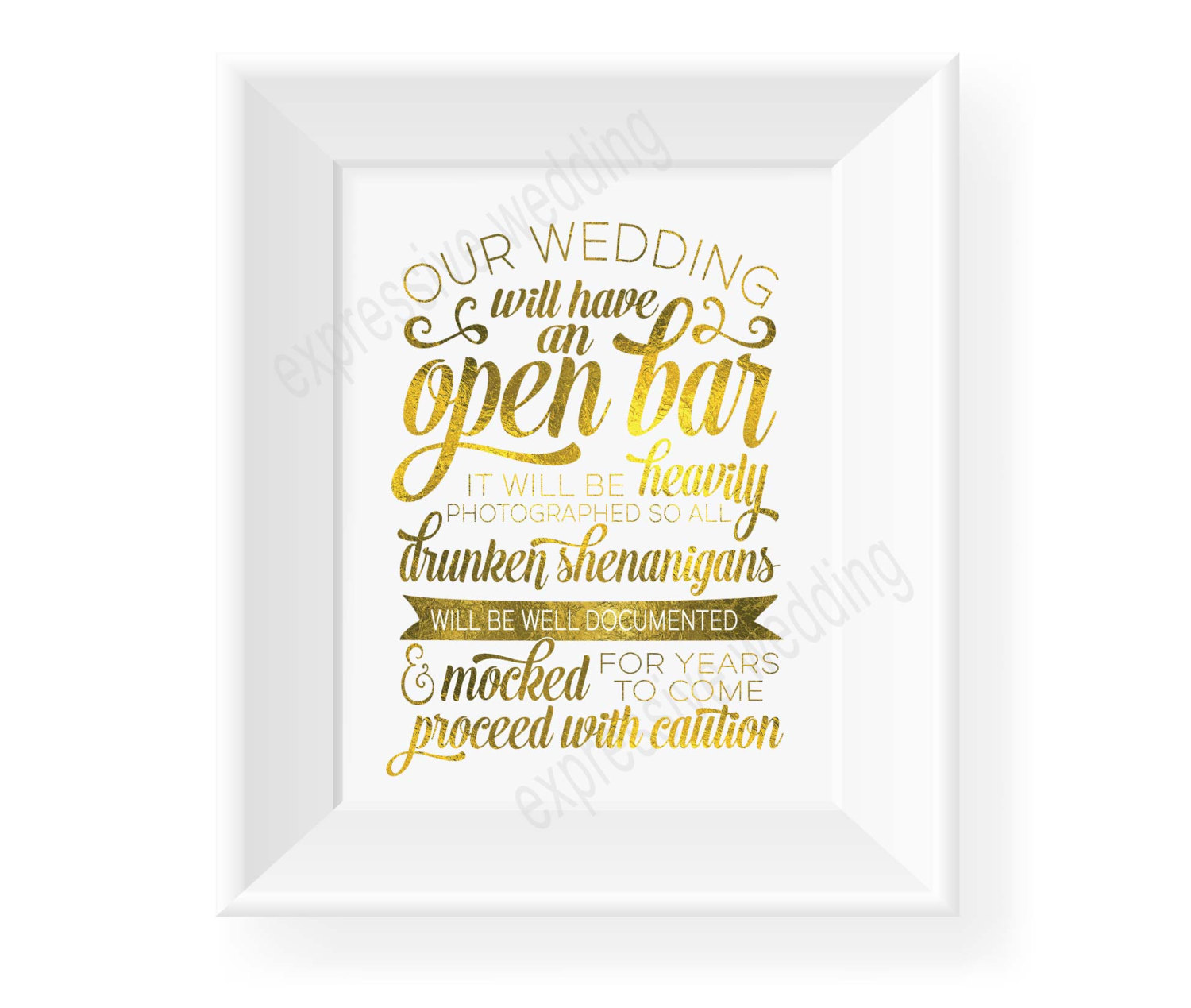 open bar sign | http://emmalinebride.com/planning/cost-bar-weddings/