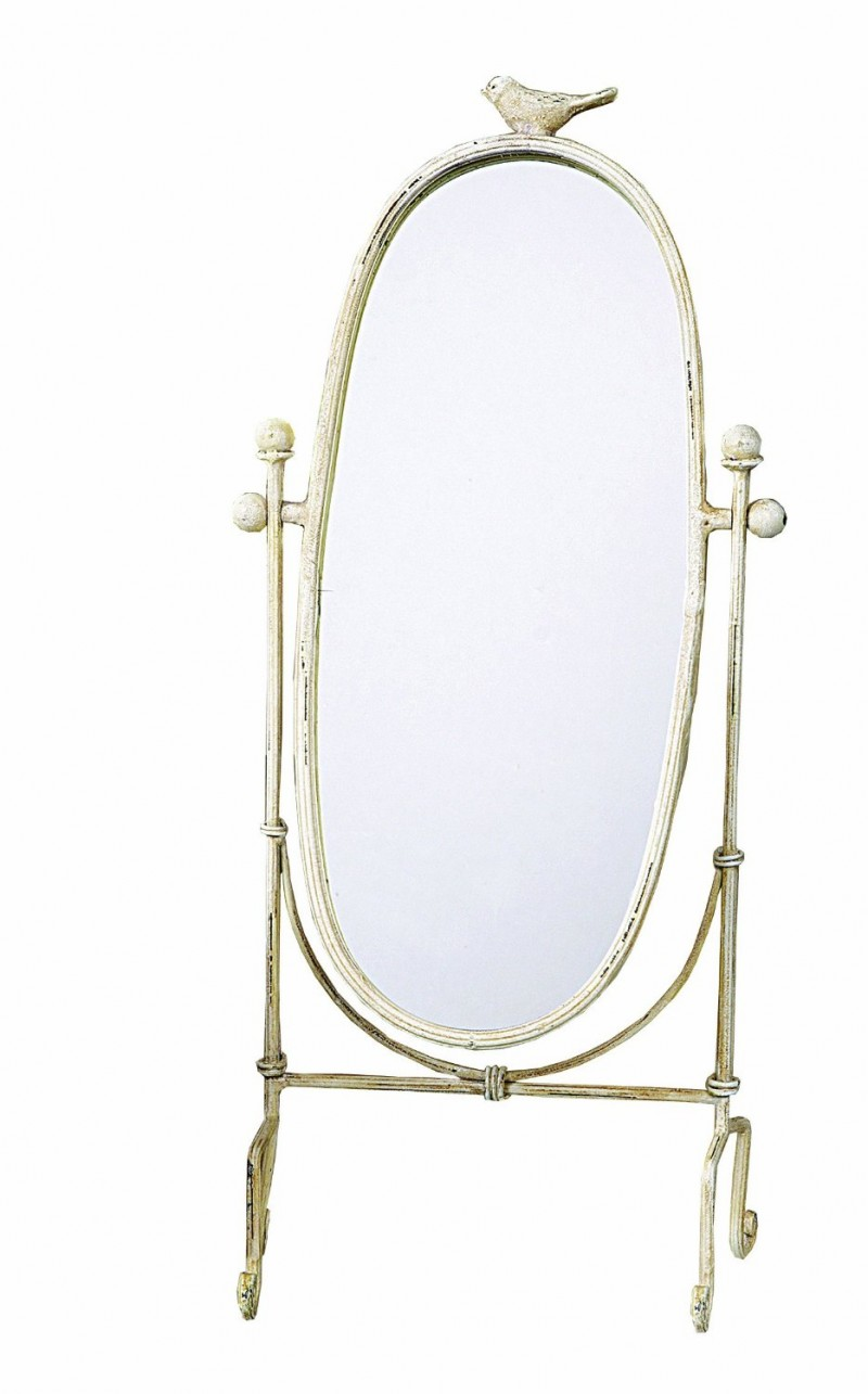 ornate shabby chic table mirror | use this as a vintage mirror table number! great find from amazon.