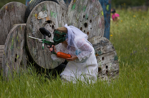 paintball bride