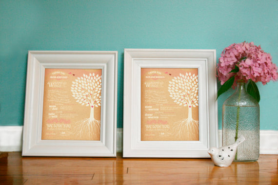 parents thank you print by paper street press (via Ways to Thank Parents at Your Wedding)