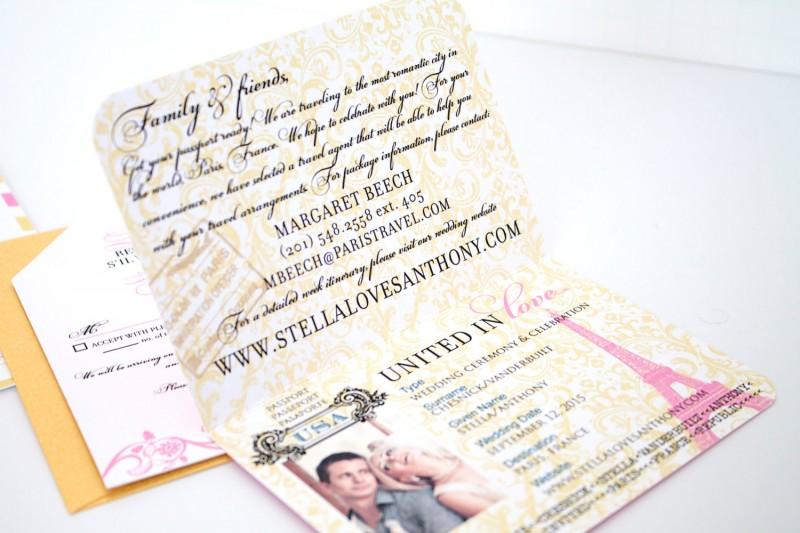 passport to love invitations | invitations destination weddings - https://emmalinebride.com/invites/invitations-destination-weddings/