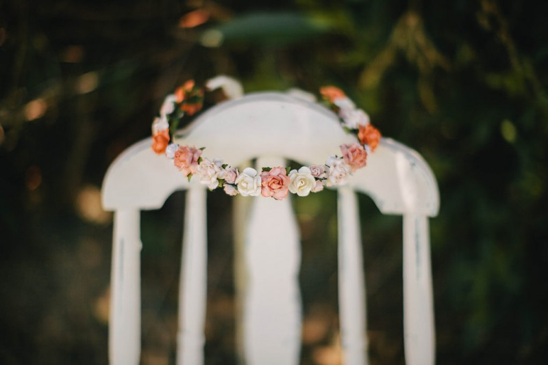 Flower Crown Wedding Accessory