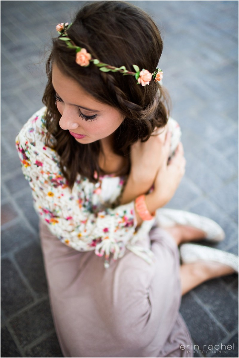 peach peonies - spring wedding crowns | via https://emmalinebride.com/bride/spring-wedding-crowns/