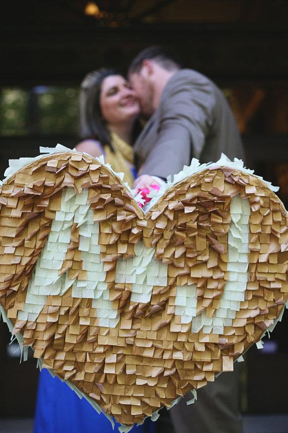wedding pinata - guest book alternative idea