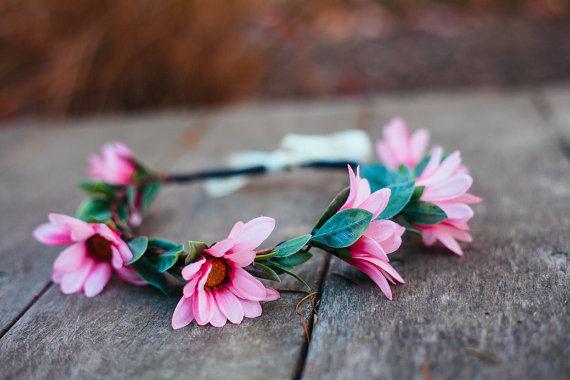 pink-daisy-wedding-hair-crown