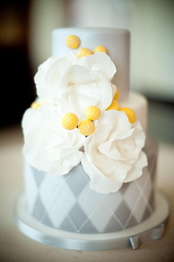 plaid cake
