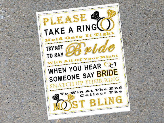 please take a ring printable pink flamingo parties