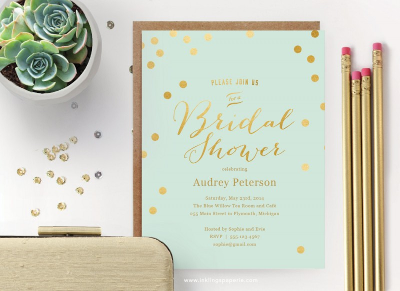 printable bridal shower invitations | via Bridal Shower Games, Invitations + More http://emmalinebride.com/2015-giveaway/bridal-shower-games/