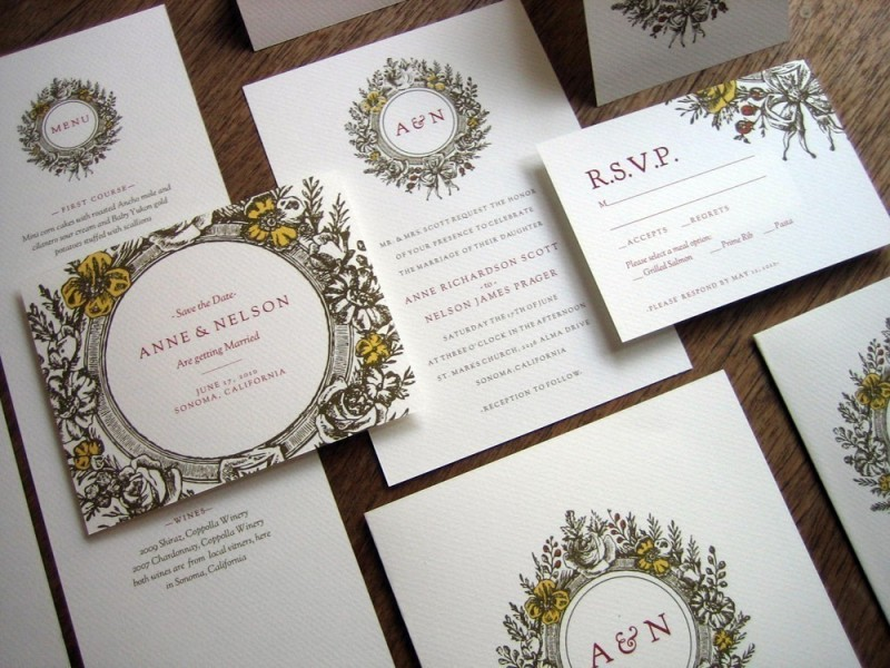 printable diy wedding invitations | Best DIY Wedding Projects via http://emmalinebride.com/decor/best-